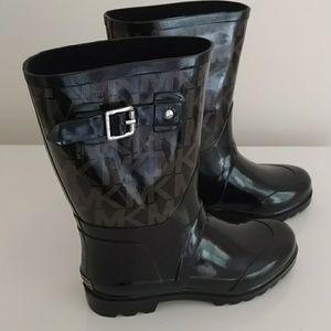 MICHAEL Michael Kors Signature Rain Boots